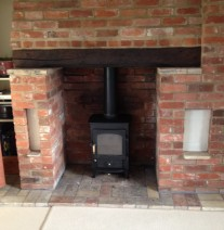 Clearview wood burner installations