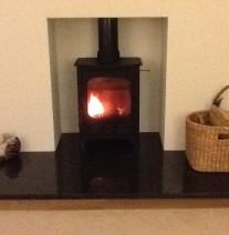 Installation of stove
