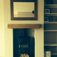 Construction of fake chimney breast
