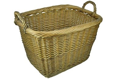 Basket for logs, small